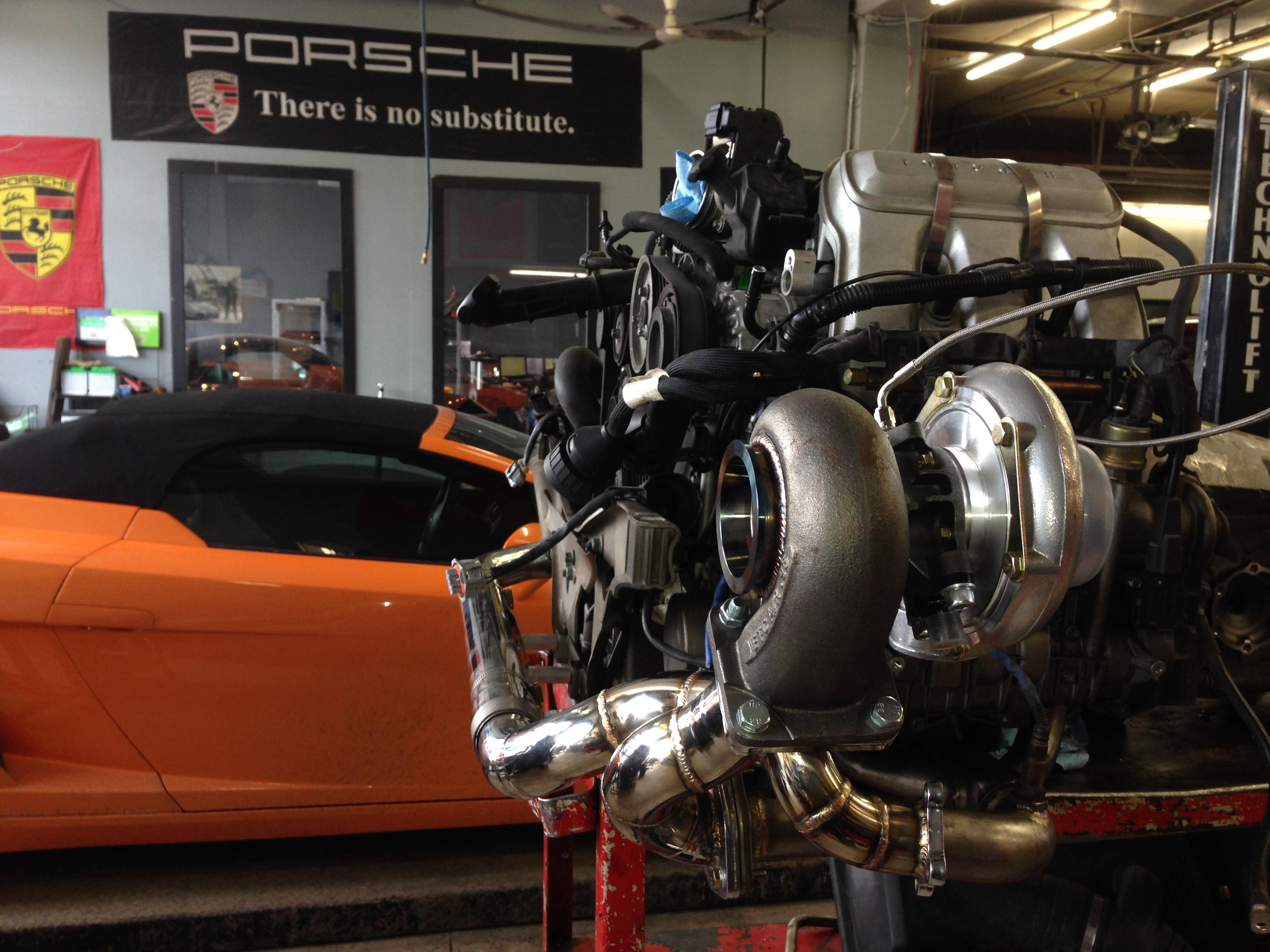 TPC Racing 996 Carrera Turbo Kit | Ek Performance